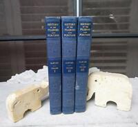 Rare 1922 3 Volume Set Vol I II III History of the Pilgrims and Puritans SAWYER