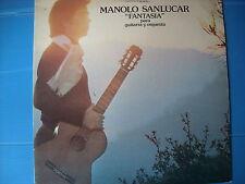 """LP MANOLO SANLUCAR """" FANTASIA """" para guitarra y orquestra NUOVISSIMO LOOK"""