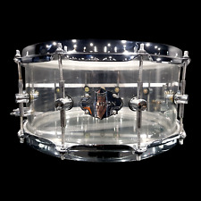 CHAOS ILLUSION ACRYLIC SNARE DRUM 14'' x 5.5'' - CRYSTAL CLEAR