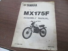 Yamaha 1979 MX175 Factory Assembly Manual Cover Page Wall Art LIT-11666-01-64