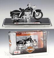 MAISTO 1:18 Harley Davidson 1952 K Model MOTORCYCLE BIKE MODEL Toy Gift NIB
