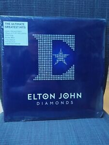 Elton John - Diamonds - Double 180 Gram Vinyl LP & Download *NEW & SEALED*