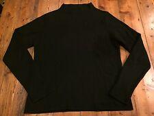 NEIMAN MARCUS Women's Black 100% Cashmere Sweater- Large- Retail $250