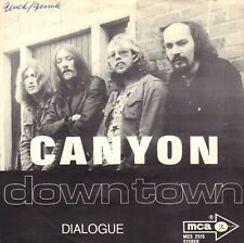"""CANYON – Down Town (1971 DUTCH PROG. ROCK VINYL SINGLE 7"""")"""
