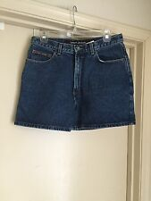 DKNY JEANS Denim Shorts Dark Wash Size 12 EUC