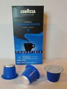 1- Lavazza BLUE Capsules Espresso Decaffeinato Medium Roast Pack of 10 04/30/22