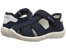 Sandals Boys Closed Toe Navy Blue Canvas Naturino Infants  Size  5 1/2