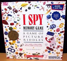 Briarpatch I Spy Memory Game of Picture Riddles - New - Sealed