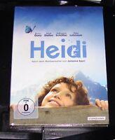 Heidi Edición Especial en Booklet+Cartel+Postkartenset DVD Nuevo y Emb. Orig.