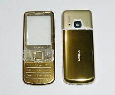 Housing Cover Case Fascia facia skin for Nokia 6700 Classic 6700C gold w keypad