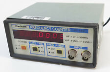 Fordham FC-150 Frequency Counter HF: 10Hz - 30MHz, VHF: 1.0MHz - 150MHz