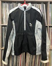 New listing Vintage Puma Savannah Windbreaker Size M Black / Gray • Lee Beat Street