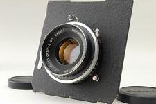 [Exc+++] Fuji Fujinon W 125mm f/5.6 Lens + Seiko Shutter + Board from Japan #193