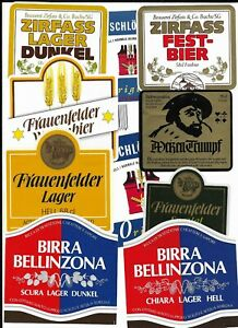 Bieretiketten - beerlabels -  SCHWEIZ - 2