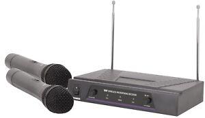 QTX VH2 DUAL HANDHELD VHF RADIO MIC SYSTEM, *BNIB* BARGAIN LOW PRICE-SNAP IT UP!