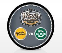 2020 Winter Classic NHL Dueling Souvenir Puck Nashville Predators Dallas Stars