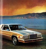 1981 Ford THUNDERBIRD Brochure / Pamphlet: HERITAGE,LANDAU, T-Bird
