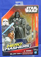 "Darth Vader Star War Hero Mashers 6"" Action Figure Hasbro 2015 NIB"