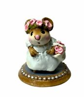 "Wee Forest Folk: ""The Flower Girl"" Collectibles, 1988, C-6"