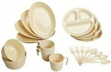 North Eagle Leisure Tableware set for 4 persons NE855 Outdoor Camping From Japan