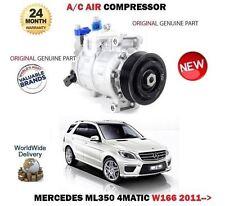 Per MERCEDES ML350 4 MATIC 306bhp 2011-ON AC Compressore ad aria condizionata