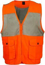 King's Camo Upland Vest, Color: Blaze Orange / Khaki