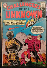 CHALLENGERS OF THE UNKNOWN #33-1963-THE CHALLENGERS MEET THEIR MASTER!-DC COMICS