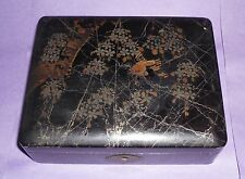 gift papier mache lacquer box Chinese