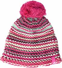 Adidas Kids Knit Beanie Woolly Bobble Hat Climawarm