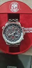 Citizen Eco-Drive CA0080-54E Red Arrows Royal Air Force Chronograph Watch.