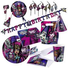 Monster High Decoración de Fiesta Cumpleaños Niños Monsterparty