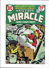 """MISTER MIRACLE #17  [1974 FN-]  JACK KIRBY!  """"MURDER LODGE!"""""""