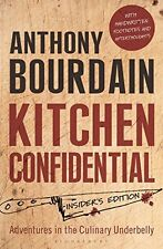 Kitchen Confidential New Paperback Book Anthony Bourdain