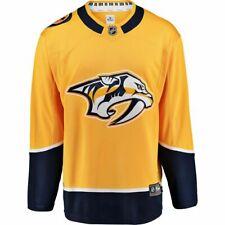 Fanatics Nashville Predators NHL Hockey Logo Breakaway Home Jersey Mens Size M
