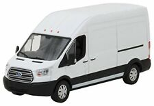 GREENLIGHT 86083 - 1/43 2017 FORD TRANSIT EXTENDED VAN HIGH ROOF WHITE