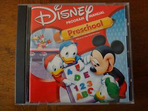 Disney Mickey Mouse Preschool (PC Windows 98/95 Mac, 2000) - CD-ROM