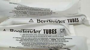 10 Tubes Beertender Neufs pour Tireuse Machine à Bière Seb ou Krups Fûts 5L