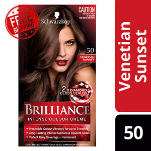 Schwarzkopf Brilliance Intense Colour Crème & Opulent Gloss 50 Venetian Sunset
