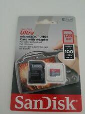 Sandisk 128gb Micro SD Tarjeta de memoria SDXC Ultra