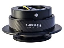 NRG Steering Wheel Quick Release Gen 2.5 Black with Carbon Fiber Ring