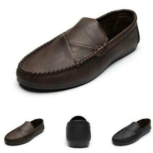 Retro Mens Driving Moccasins Shoes Pumps Slip on Loafers Soft Comfy Breathable D