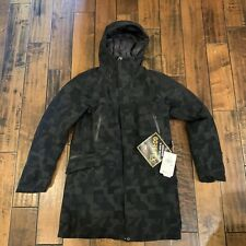 The North Face Cryos Wool Blend Apex Flex GTX 800 Down Parka Jacket SZ Women L