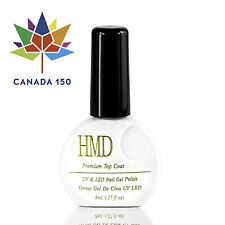CANADA 150 HMD Soak Off UV LED Gel Nails Polish mirror shine top coat fast cure