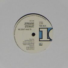 """JERMAINE STEWART 'WE DON'T HAVE TO….' UK 7"""" SINGLE #2"""