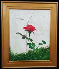 """Vintage Rose"" Original Artwork By Louisiana Artist Seller"