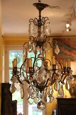 Crystal chandelier lighting Pendant light Ceiling light French antique lighting