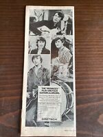 Vtg 1966 1967 raybert MONKEES paper cutout SIGNED by Micky Dolenz