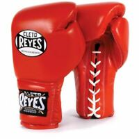 Cleto Reyes Traditional Training Gloves - Lace Ups - Red