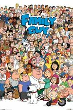 """FAMILY GUY - TV SHOW POSTER / PRINT (ALL CHARACTERS) (SIZE: 24"""" X 36"""")"""