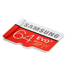 Samsung EVO+ 80MB/S 64GB TF Flash MicroSD Memory Card Class10 UHS-I With Adapter